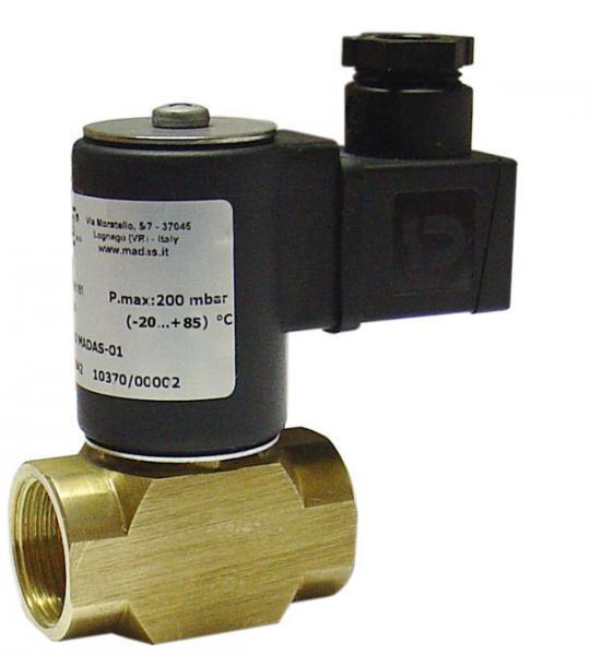 ガス電磁遮断弁 EVOF02-002 AC100V 口径15A