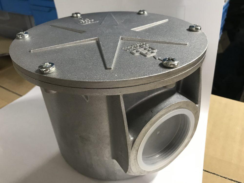 ガスフィルタ バケットタイプ 15A~100A (1/2″~4″)