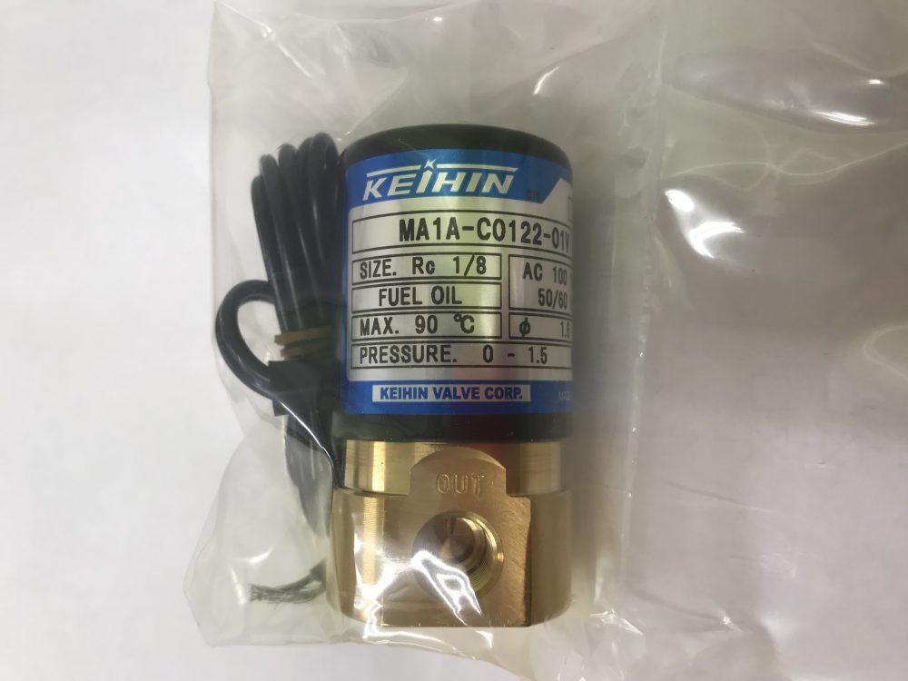 油バーナ用電磁弁 MA1A 100V Rc1/8 (6A)